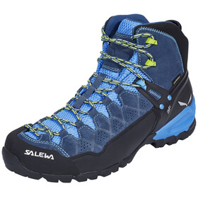 Salewa Alp Trainer Mid GTX Shoes Men Dark Denim/Cactus